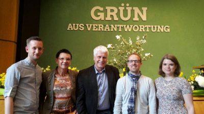 GRÜNE KV Mannheim - Delegation LDK 20160507