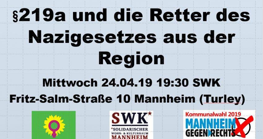 Grafik 219a Nazigesetz und Region